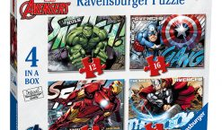Puzzle avengers, 12/16/20/24 piese