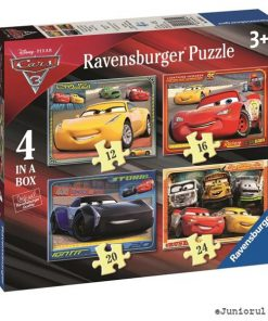 Puzzle cars, 12/16/20/24 piese