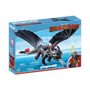 Hiccup si toothless