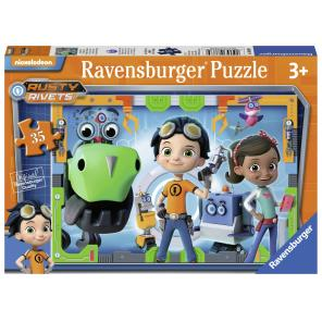 Jucarii Ravensburger - PUZZLE RUSTY RIVETS, 35 PIESE