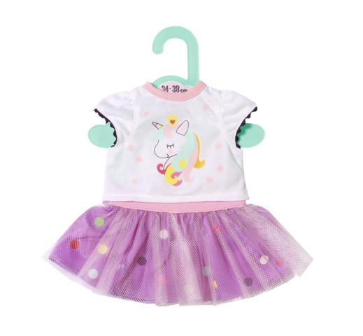 Jucarii Zapf Creation - Dolly Moda -Tricou&fusta tutu 36 cm