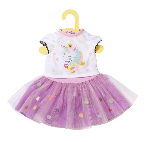 Jucarii Zapf Creation - Dolly Moda -Tricou&fusta tutu 43 cm