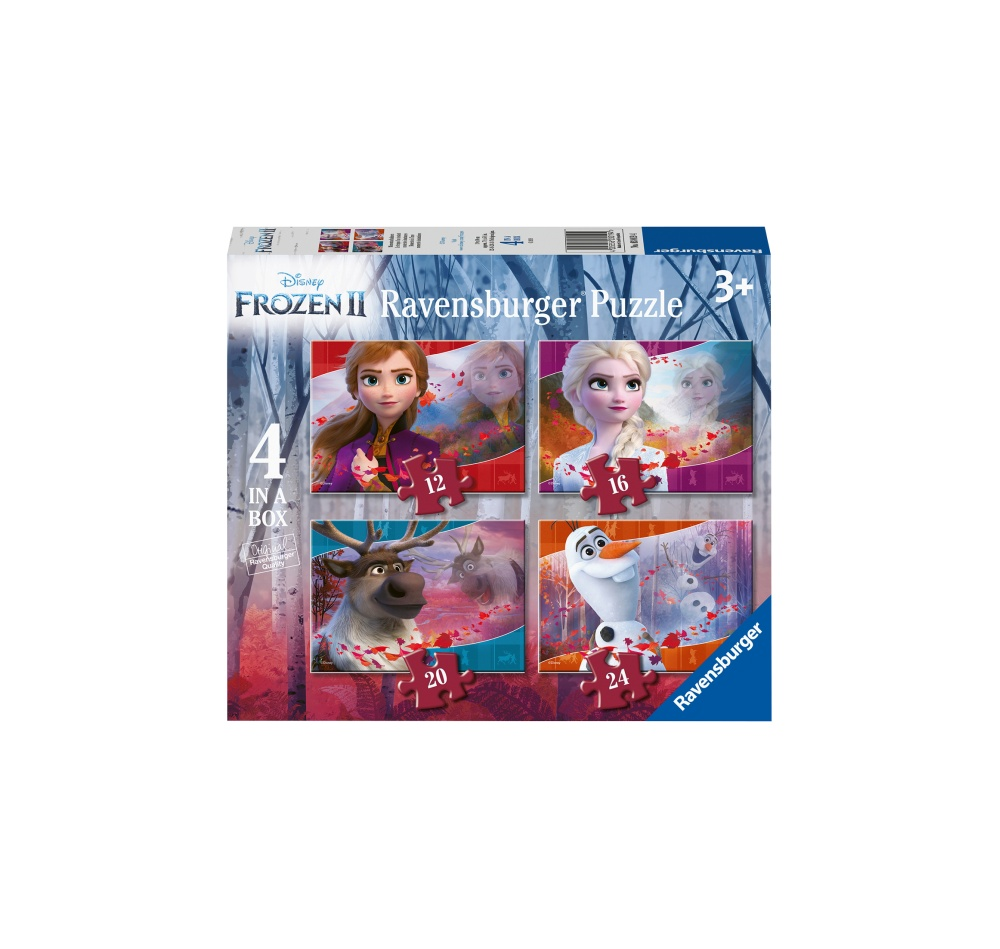 Jucarii Ravensburger - PUZZLE FROZEN II, 12/16/20/24 PIESE